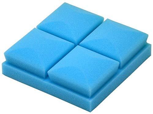 WOHAO Schallschutzschaum Acoustic Super Sound-absorbierende Baumwolle, Platz Schalldämmung Bar Haushalt Klavier Zimmerübungsraum Sponge Akustikplatten Dicke-5 cm (Farbe: violett) (Color : Blue)