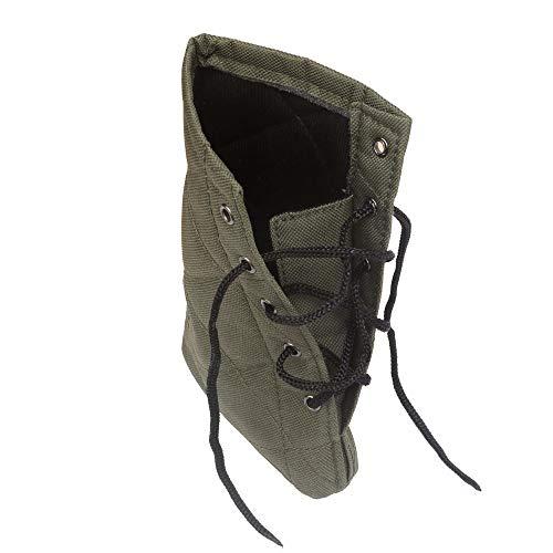 XFC-Stock, Accessori for Armi da Caccia Fucile Fucile a Pompa Buttstock Rinculo Cuscino Antiscivolo Guanciale 1,5 cm Protezione Spugna Nylon Regolabile Verde Militare
