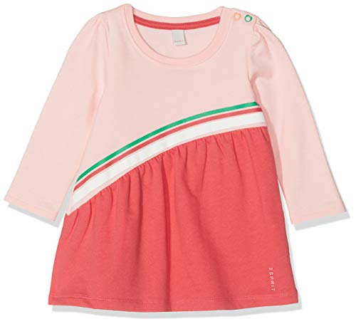 ESPRIT KIDS Baby-Mädchen RP3100107 Knit Dress Kleid, Rosa (Tinted Rose 331), (Herstellergröße: 62)