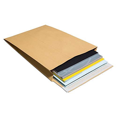 Blake B4 352 x 250 x 50 mm 140 gsm Manilla Peel en Seal Gusset Pocket - Beige (Pak van 125) 125 stuks. B4-352 x 250 x 50 mm Manilla