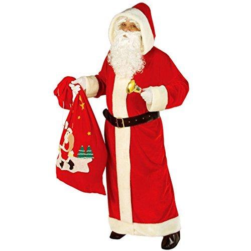 Giacca Costume di Babbo Natale XL 54/56