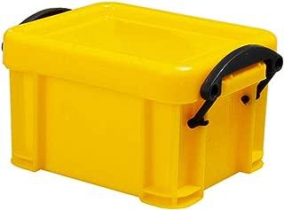 LAFEINA Plastic Mini Storage Box for 1:10 RC Rock Crawler Car TRX4 Axial SCX10 90046 Decoration Accessories(Yellow)