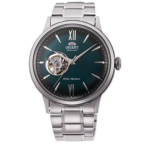 Orient Reloj Analógico para Unisex Adultos de Automático con Correa en Acero Inoxidable RA-AG0026E10B