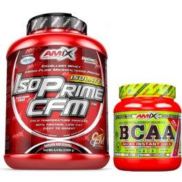 Amix Isoprime CFM Chocolate - 2 kg + Bcaa Instant - 300 g ⭐
