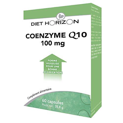 Diet Horizon Coenzyme Q10 100mg 60 Capsules