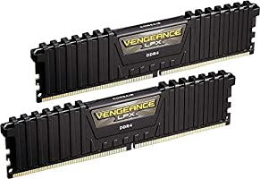 Corsair CMK16GX4M2B3000C15 Vengeance LPX Memorie XMP 2.0 di alte prestazioni per Desktop a Elevate Prestazioni, 16 GB (2...