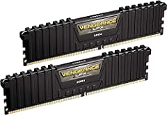 Hand-sorted memory chips ensure high performance with generous overclocking headroom. Vengeance LPX is optimized for wide compatibility with the latest Intel and AMD DDR4 motherboards. A low-profile height of just 34mm ensures that vengeance LPX even...