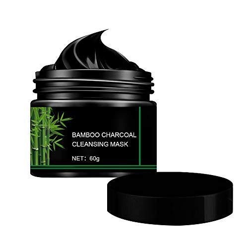 cheap4uk 1 Pieza Mascarilla para la eliminación de espinillas de 60 ml Mascarilla purificante de carbón Activado para espinillas para Limpieza de poros Eliminación de Puntos Negros del acné