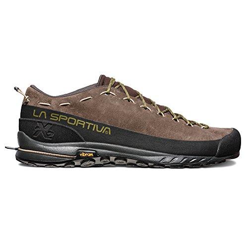 La Sportiva TX2 Leather Approach Shoe, Chocolate/Avocado, 45