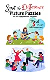 Spot the Difference Picture Puzzles We are happy when we play music  Find 5 Differences vol.78: Children Activities Book for Kids Age 3-8, Boys and Girls Activity Learning (English Edition)