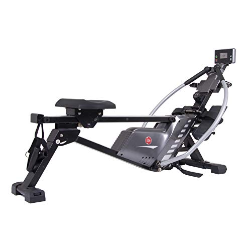 Body Power 3-in-1 Conversion Rowing Machine with Strength Resistance Cable Training, Rower Exercise...