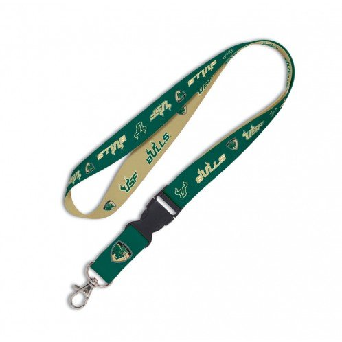 NCAA University of South Florida Lanyard with Detachable Buckle, 1""