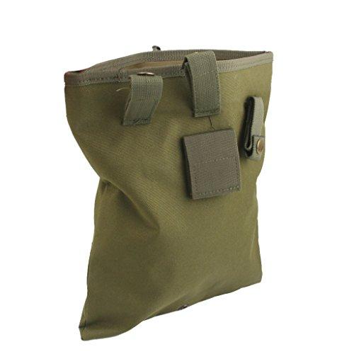 Militaer Paintball Molle Taktischen Magazin Dump Drop Utility Pouch Bag A1