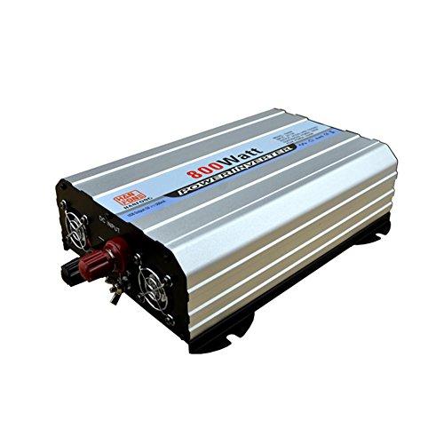 BQ Convertisseur @ Car Power Inverter DC 12V À AC 220V 800 W Convertisseur de voiture à démarrage doux avec adaptateur allume-cigare et double charge USB 2