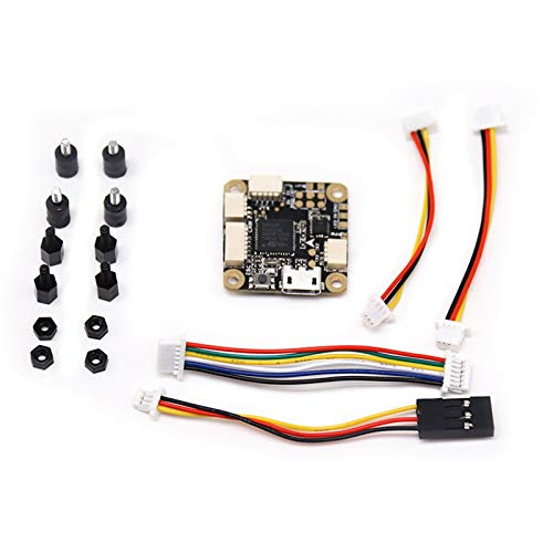 XUSUYUNCHUANG-HAT F4 Flugsteuerung OSD & 20A Blheli_S 2-4S DSHOT600 Brushless Regler for RC Drone FPV Racing 20x20mm Drone Zubehör (Color : F4 Flight Controller)