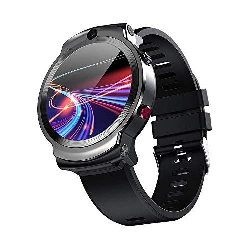 DHTOMC 4G reloj inteligente 360 grados que giran la tarjeta dual de Wifi de la cámara de Bluetooth GPS de la tarjeta