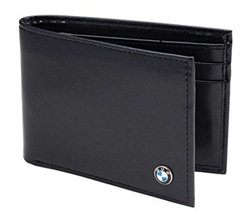 Genuine BMW Men's Small Leather Wallet