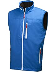 Helly Hansen Crew Vest Chaleco Marino con Forro Polar Interior para Hombres, Impermeable y diseñado para Cualquier Actividad Casual o Deportiva