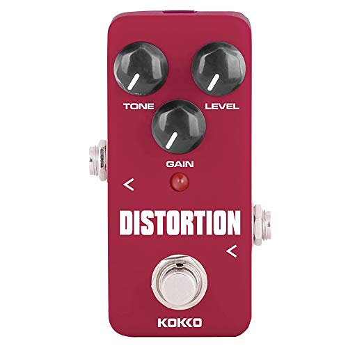 Kokko Flatsons Distortion Guitar Pedal Mini Effect Pedal Processor of...