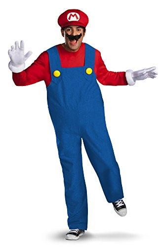 Disguise - 59547 - Costume Adulte Super Mario Deluxe - Taille L