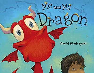 Super cute! This unusual pet book is a winner. Me and My Dragon