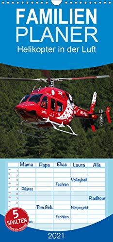 Helikopter in der Luft - Familienplaner hoch (Wandkalender 2021, 21 cm x 45 cm, hoch)