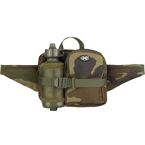 Top Hüfttasche inkl. Trinkflasche 0,5L woodland Woodland