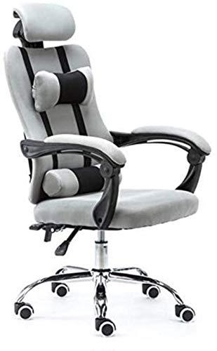 YAMMY Silla de Oficina Silla de Oficina Silla ergonómica para Juegos Ordenador con sillón Boss elevable Silla de Oficina giratoria para Ajustar (Silla para Juegos)