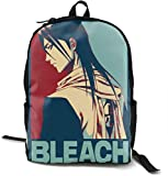 Blea-ch Po-Ster -2 School Bags Travel Hiking Teens with Kettle Pocket Backpack