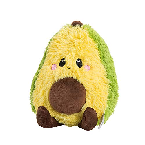 Avocado Microwavable Heating Pad - Pillow Plush Food Toy- Warm Cute Cozy Soft Heatable Stuffed Animal - Hot and Cold Therapy for Cramps, Back, and Neck Pain Relief - Stress Relief and Comfort Gift