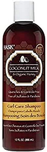 Champú para Pelo Rizado Coconut Milk & Honey HASK (355 ml)