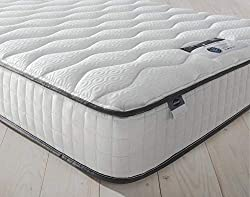 FOR THE SINK-IN SNOOZERS : Take the pressure off with this memory foam mattress MEMORY FOAM : The comfort layer gently hugs to you to sleep, whilst moulding to the contours of your body for perfect pressure relief TAILORED SUPPORT : The Mirapocket la...