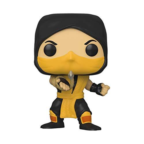 Boneco Mortal Kombat Scorpion Pop Funko 537 SUIKA