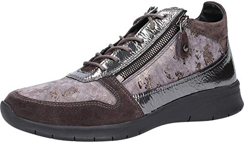 Sioux Liduma-704-xl - Zapatillas Deportivas para Mujer, Color Gris, Talla 38 EU