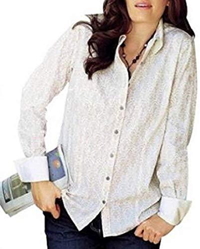 Your Life Your Fashion Bluse met print van het huis Heine in wit/crème