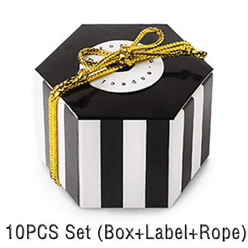 ARR Dots Boite Dragees cajas de regalo para caramelos, tartas, fiestas, bombones, dulces, etc.