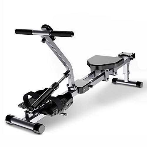 LDIW Home Rowing Machine, 2021 Model Foldable Household Metal Aerobic Rowing Machine 12 Adjustable Resistance...