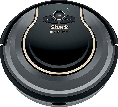 Shark RV750_N ION Robot Vacuum Cleaner Wi-Fi Automatic (Renewed) 2 Works with Alexa for voice control (Alexa device sold separately). Self-cleaning Brush roll captures short and long hair, dust, dander, and allergens to prevent everyday buildup in your home Smart sensor navigation seamlessly navigates floors and carpets while proximity sensors assess and adapt to surrounding obstacles