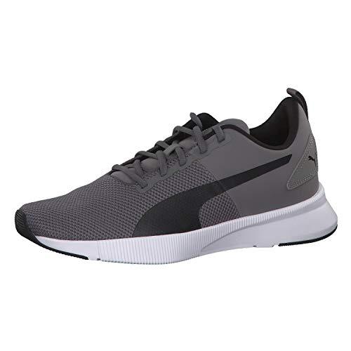 PUMA Unisex-Erwachsene Flyer Runner Laufschuhe, Grau (Charcoal Gray-Puma Black), 45 EU