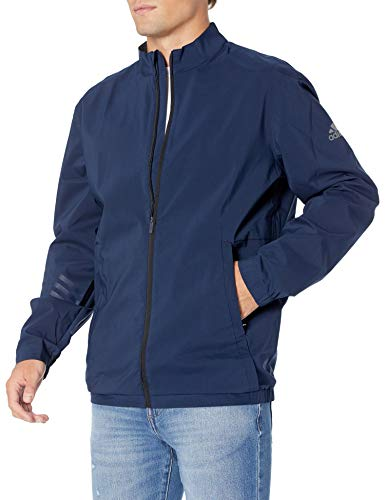 adidas Golf Provisional Rain Jacket, Collegiate Navy, Large
