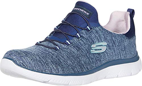 Skechers Women's Summits-Quick Getaway Sneaker, Nvpr, 8 M US