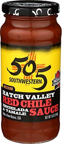 505 Southwestern, Chili Sauce Red Chili, 16 Ounce