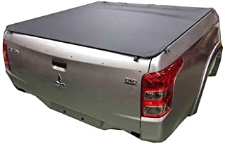 Mitsubishi Triton MQ/MR Dual Cab July 2015 to Current Without Sports Bar and Headboard, Clip On Ute Tonneau Cover. Tuff To...
