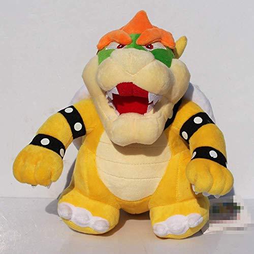 zjq Kuscheltier 25cm Mario Bros. Bowser Cooper Plüschtier Kuscheltier Puppe Spielzeug