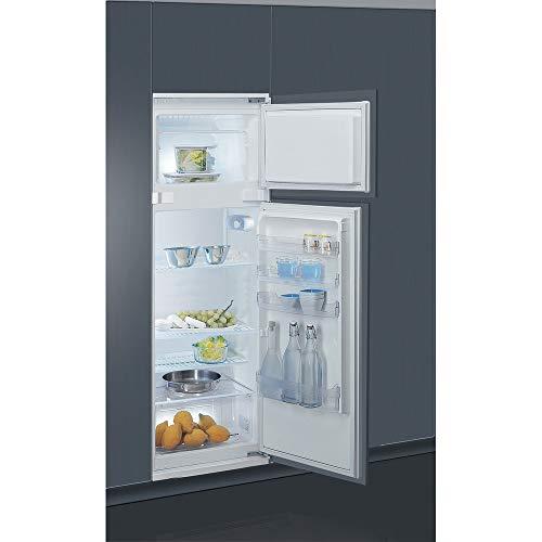 INDESIT T 16 A1 D/I 1 Einbau-Kühlschrank, 239 Liter, zwei Doppeltüren, 158 cm A+ LED-Beleuchtung