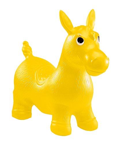 John 59026 - Aufblasbares Sprung- und Sitztier Pony Hop - Hüpftier, Hüpfspielzeug, Sprungpferd (Sortiert)