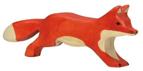 Holztiger Fuchs, laufend, 80094