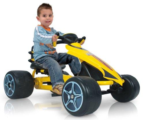 INJUSA 412 Go-Kart - Flecha a pedales para niños de 2 años con sillín...