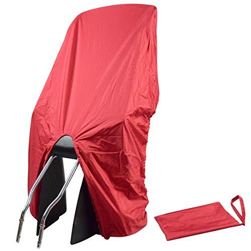 TROCKOLINO Regenschutz Abdeckung Fahrradkindersitz, rot