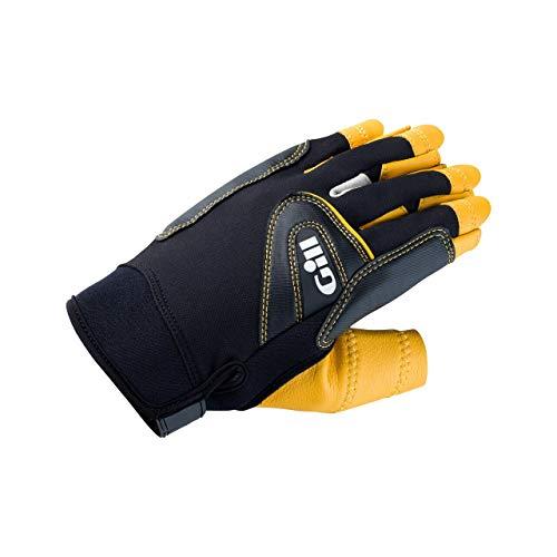 Gill Pro Short Finger Segelyacht- und Jollenhandschuhe - Easy Stretch - Bewährte Flexibilität und Komfort